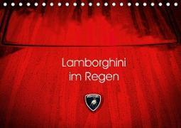 Lamborghini im Regen (Tischkalender 2020 DIN A5 quer)