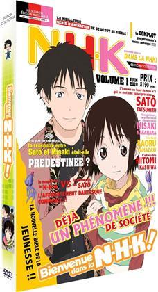 Bienvenue dans la NHK! - Intégrale de la série (Coffret format A4, Édition Collector Limitée, 4 DVD)