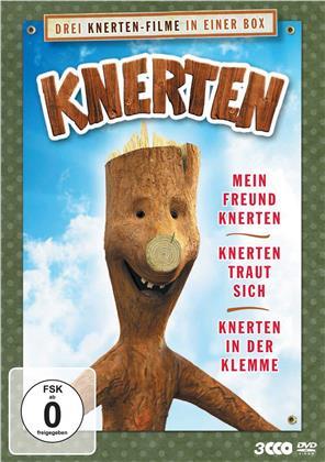 Knerten - Mein Freund Knerten / Knerten traut sich / Knerten in der Klemme (3 DVDs)