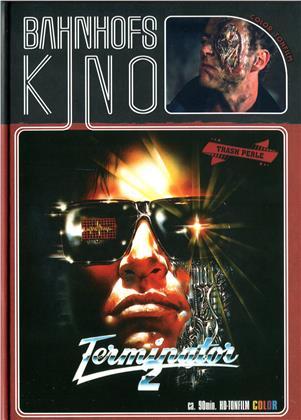 Contaminator - ...die Mordmaschine aus der Zukunft (1989) (Cover A, Bahnhofskino, Edizione Limitata, Mediabook, Uncut, Blu-ray + DVD)