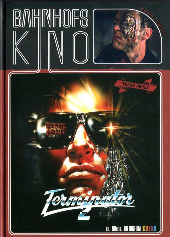 Contaminator - ...die Mordmaschine aus der Zukunft (1989) (Cover A, Bahnhofskino, Limited Edition, Mediabook, Uncut, Blu-ray + DVD)