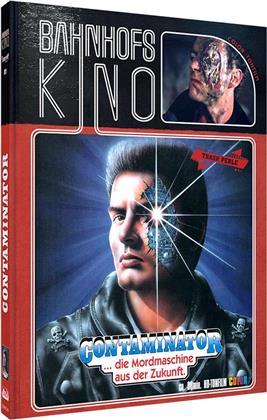 Contaminator - ...die Mordmaschine aus der Zukunft (1989) (Cover B, Bahnhofskino, Limited Edition, Mediabook, Uncut, Blu-ray + DVD)