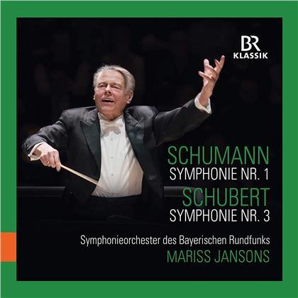 Robert Schumann (1810-1856), Franz Schubert (1797-1828), Mariss Jansons & - Symphonie Nr. 1