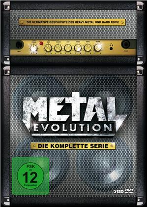 Various Artists - Metal Evolution - Die komplette Serie (3 DVDs)
