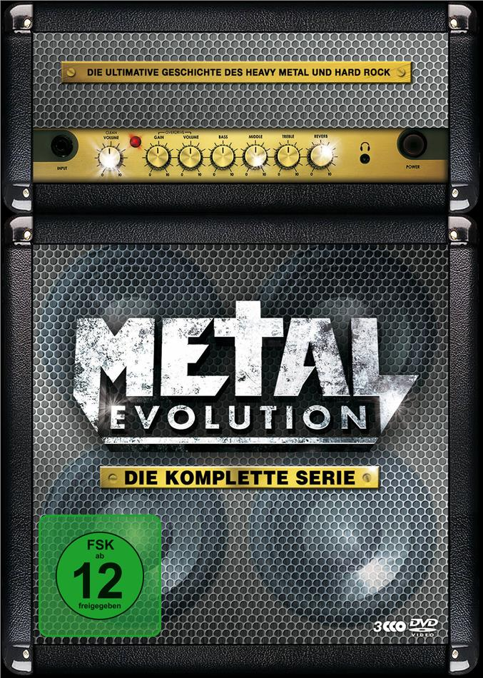Various Artists - Metal Evolution - Die komplette Serie (3 DVDs)