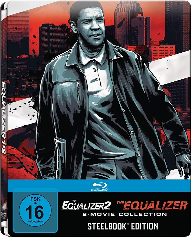 The Equalizer / The Equalizer 2 - 2-Movie Collection (Limited Edition, Steelbook, 2 Blu-rays)
