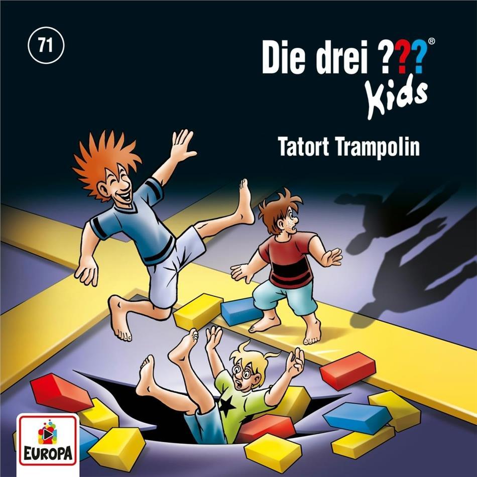 Die Drei ??? Kids - 071/Tatort Trampolin