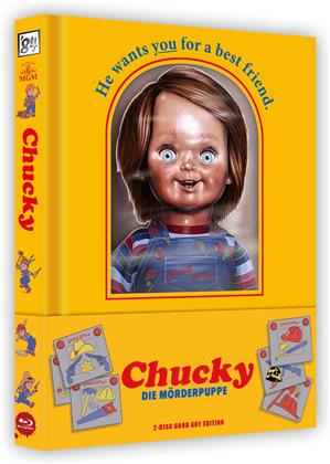 Chucky - Die Mörderpuppe (1988) (Wattiert, Good Guy Edition, Lenticular, Limited Edition, Mediabook, Uncut, 2 Blu-rays)