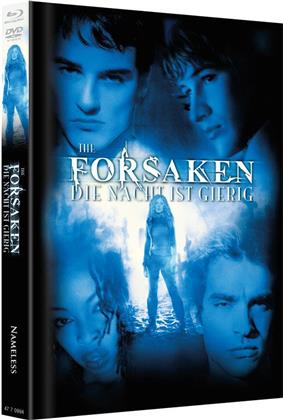 The Forsaken - Die Nacht ist gierig (2001) (Cover A, Limited Edition, Mediabook, Blu-ray + DVD)