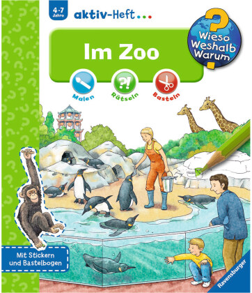 Im Zoo, Aktiv-Heft - Wieso? Weshalb? Warum?