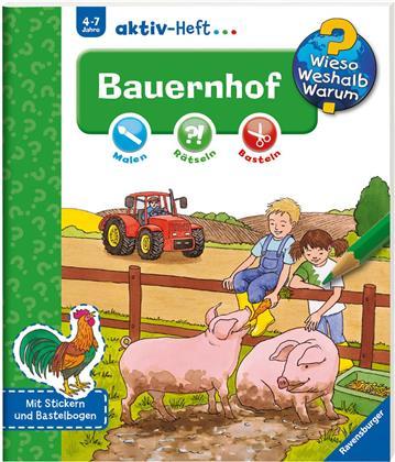 Bauernhof, Aktiv-Heft - Wieso? Weshalb? Warum?