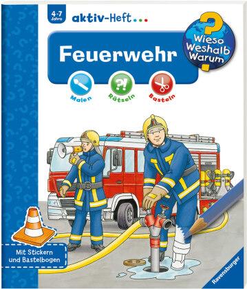 Feuerwehr, Aktiv-Heft - Wieso? Weshalb? Warum?