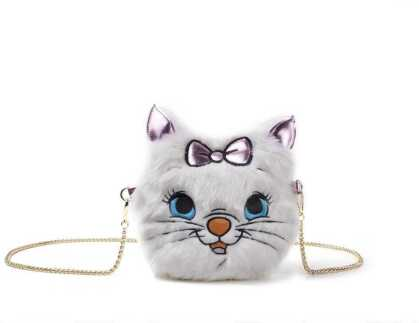 Disney - Marie Furry Cross Body Bag