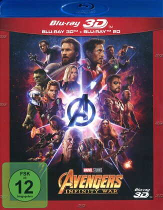 Avengers 3 - Infinity War (2018) (Blu-ray 3D + Blu-ray)