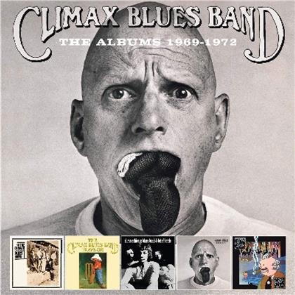 Climax Blues Band - Albums 1969-1972 (Remastered, 5 CDs)