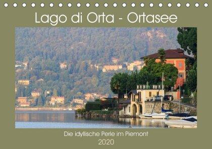 Lago di Orta - Ortasee (Tischkalender 2020 DIN A5 quer)