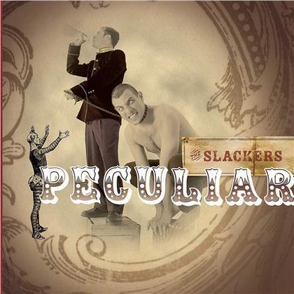 "The Slackers - Peculiar (Electric Blue Vinyl, LP + 7"" Single)"
