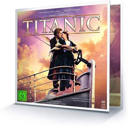 Titanic (1997) (Limited Edition, Special Collector's Edition, Blu-ray + 2 DVDs + CD)