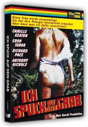 Ich spuck auf dein Grab (1978) (Cover A, Limited Edition, Mediabook, Blu-ray + DVD)