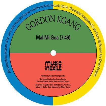 """Gordon Koang - Mal Mi Goa / Salaam (12"""" Maxi)"""