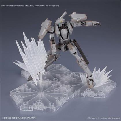Bandai Figure-Rise Effect - Shockwave White, Bandai Figure-Rise Effect