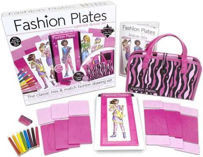 Fashion Plates - Fashion Plates Superstar Deluxe Kit (Deluxe Edition)