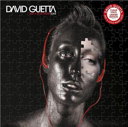 "David Guetta - Just A Little More Love (2019 Reissue, Limited Edition, Clear Vinyl, 2 12"" Maxis)"