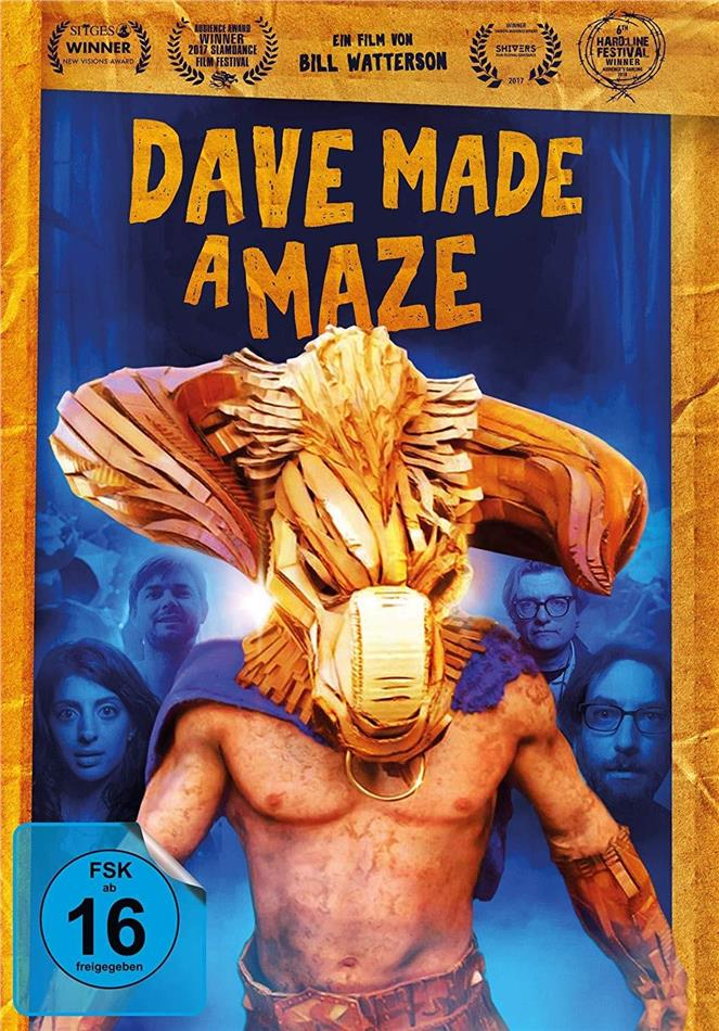 Dave Made a Maze (2017) (Digibook)