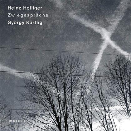 Heinz Holliger (*1939) & György Kurtág (*1926) - Zwiegespräche (ECM New Series)