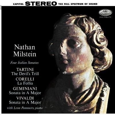 Nathan Milstein - Italian Sonatas (Analogphonic, LP)