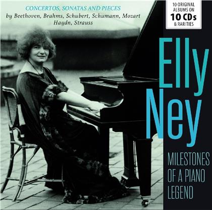 Elly Ney - Milestones Of A Piano Legend (10 CDs)
