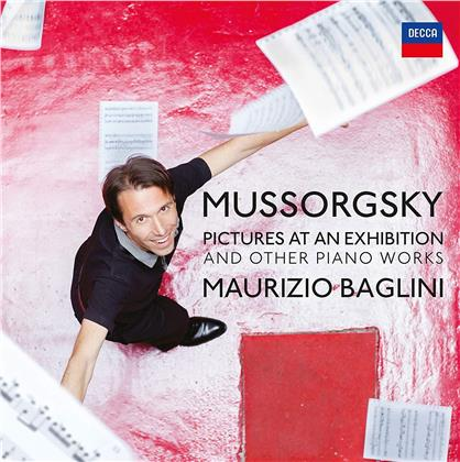 Modest Mussorgsky (1839-1881) & Maurizio Baglini - Pictures At An Exhibition And Other Piano Works (LP)