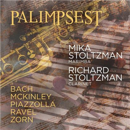 Mika Stoltzman, Richard Stoltzman, Johann Sebastian Bach (1685-1750), McKinley, Astor Piazzolla (1921-1992), … - Palimpsest