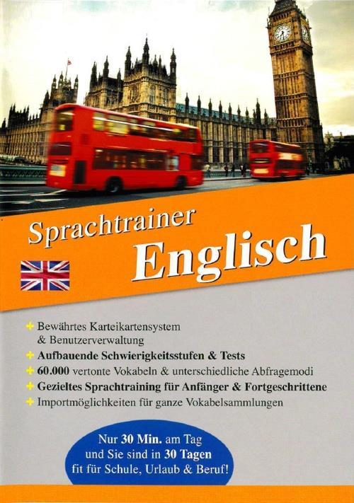 Sprachtrainer - Englisch