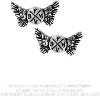 Bullet For My Valentine Stud Earrings - Wings