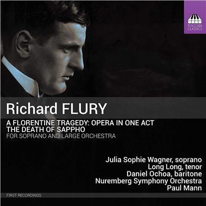 Richard Flury (1896-1967), Paul Mann, Julia Sophie Wagner & Nuremberg Symphony Orchestra - Florentine Tragedy