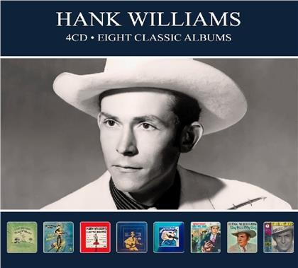 Hank Williams - Eight Classic Albums (Digipack, 4 CDs)