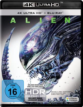 Alien (1979) (40th Anniversary Edition, 4K Ultra HD + Blu-ray)