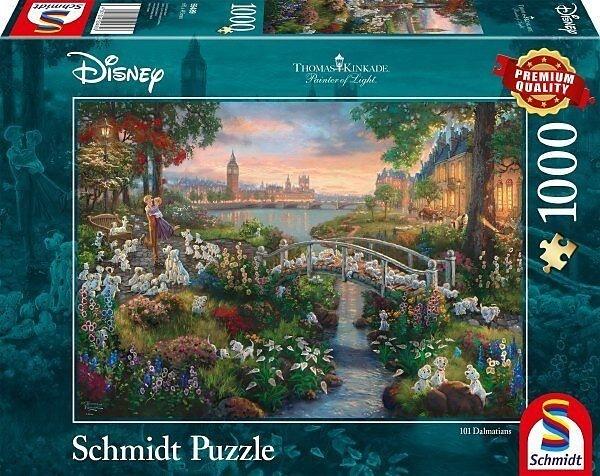 Thomas Kinkade: Disney 101 Dalmatiner - 1000 Teile Puzzle