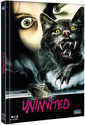 Uninvited (1988) (Cover B, Limited Edition, Mediabook, Uncut, Blu-ray + DVD)