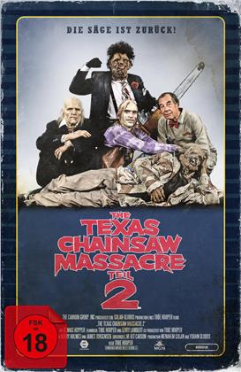 The Texas Chainsaw Massacre - Teil 2 (1986) (VHS-Edition, Limited Collector's Edition)