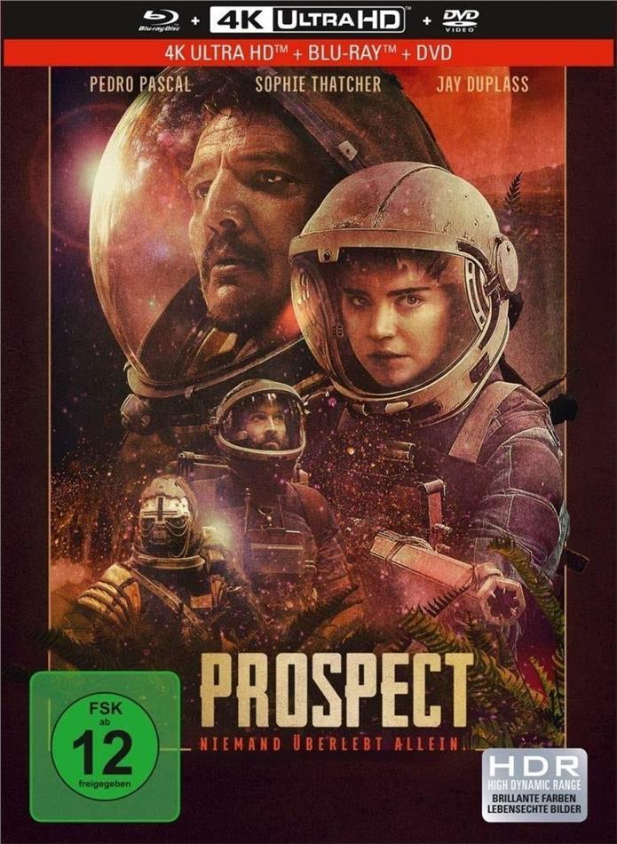 Prospect (2018) (Limited Edition, Mediabook, 4K Ultra HD + Blu-ray + DVD)