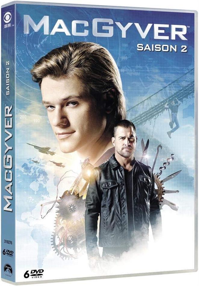 MacGyver - Saison 2 (2016) (6 DVDs)