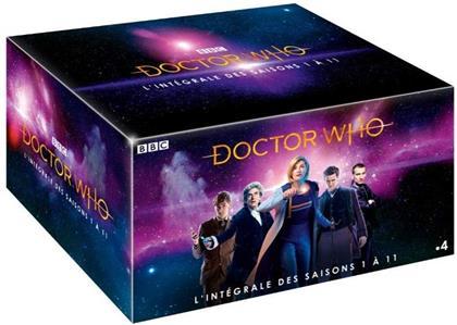 Doctor Who - L'intégrale des saisons 1 à 11 (BBC, 55 DVDs)