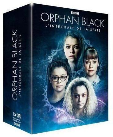 Orphan Black - L'intégrale de la série (BBC, 15 DVD)