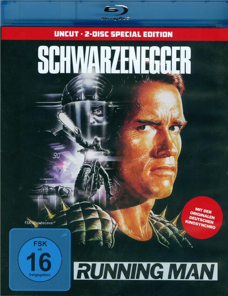 Running Man (1987) (Special Edition, Uncut, 2 Blu-rays)