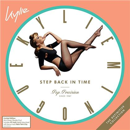 Kylie Minogue - Step Back In Time: The Definitive Collection (Green Vinyl, 2 LPs)
