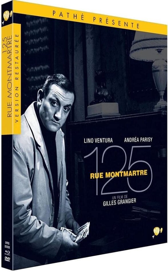 125 rue Montmartre (Limited Edition, Blu-ray + DVD)
