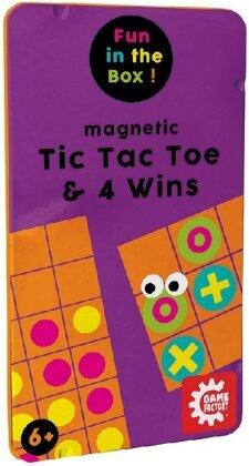 Magnetic TicTacToe & 4 Wins (mult)