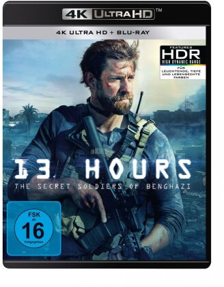 13 Hours - The Secret Soldiers of Benghazi (2016) (4K Ultra HD + Blu-ray)
